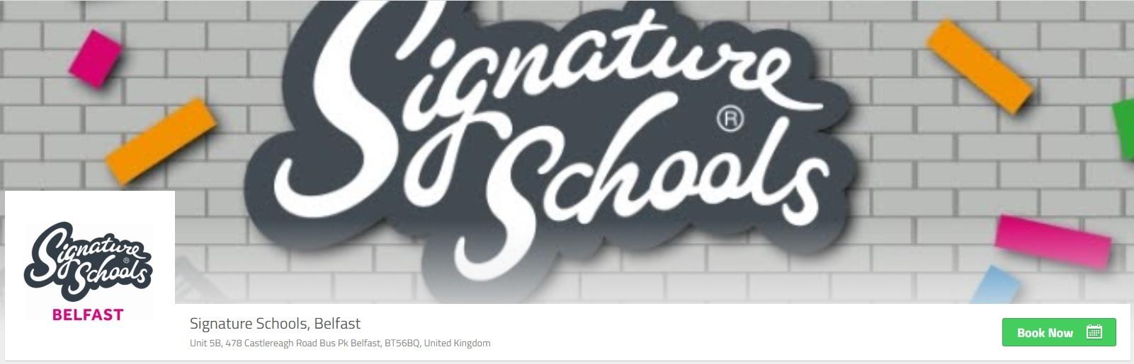 Signature Schools Belfast Online Booking