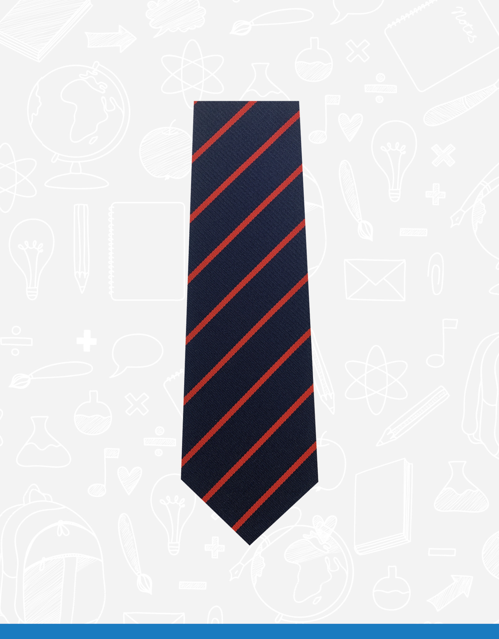 TSW Ties Bangor Academy 6th Form Tie