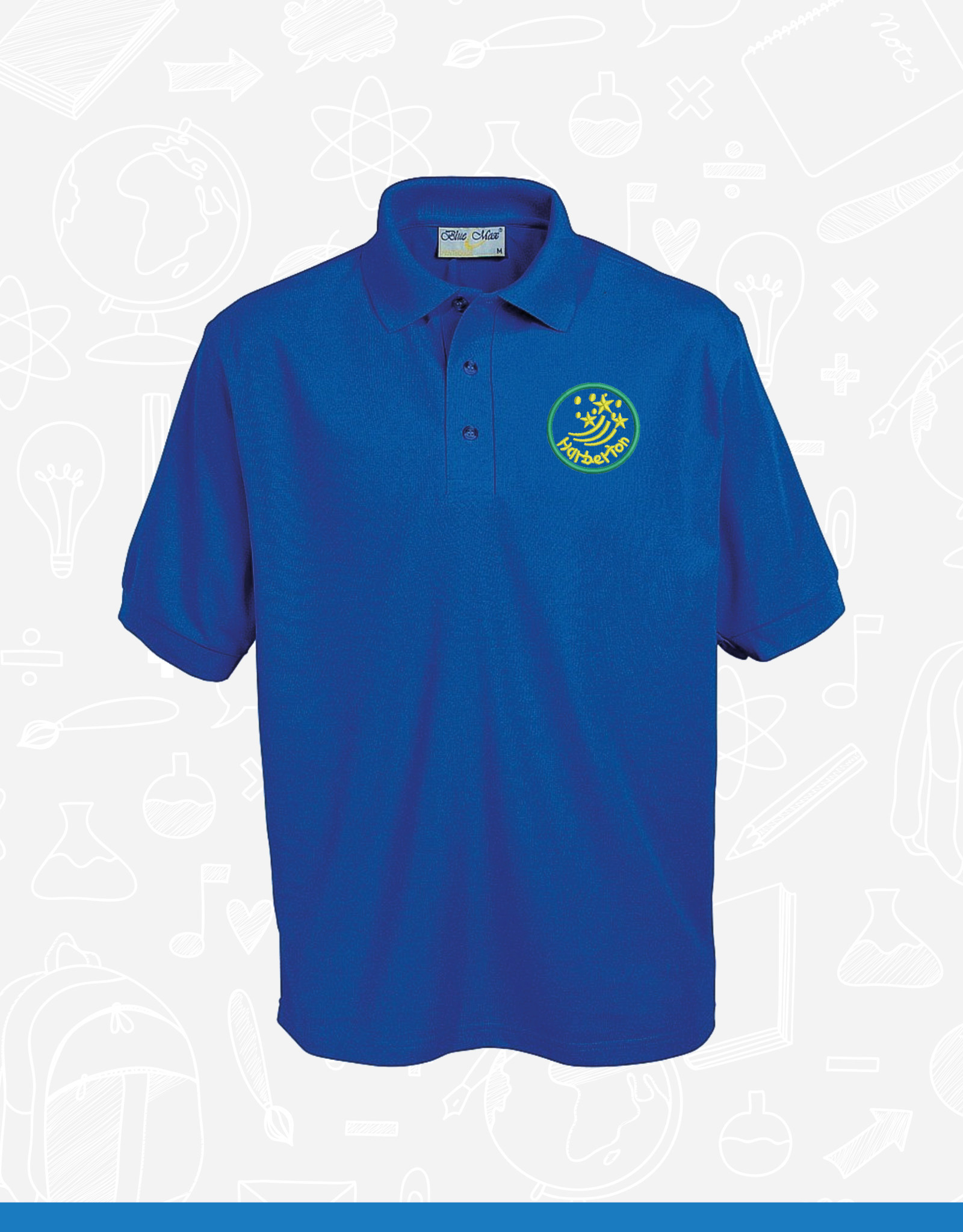 Banner Harberton Polo Shirt (3PP)