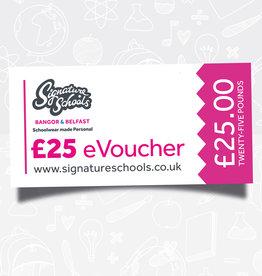 eVoucher for £25