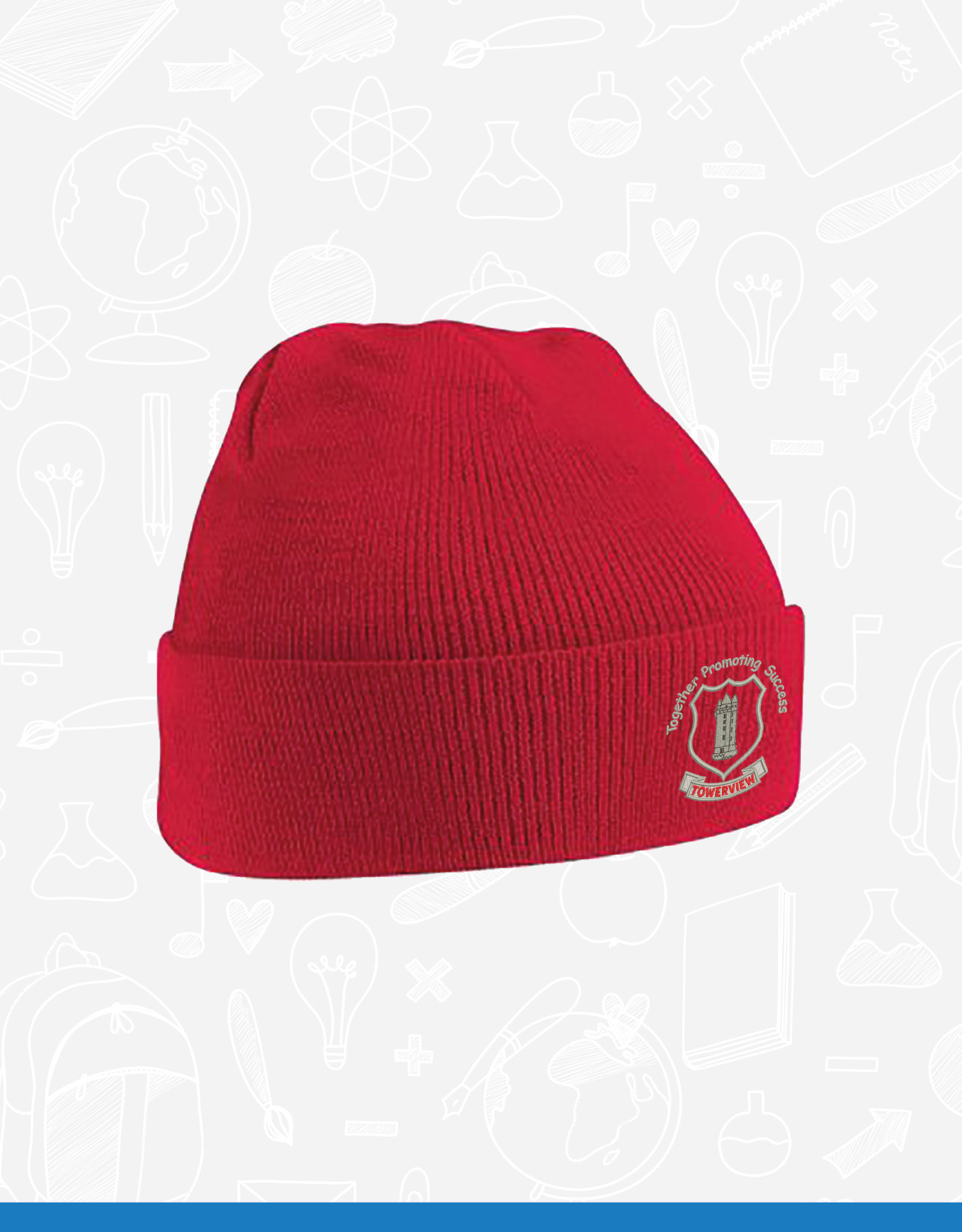 Beechfield Towerview Primary Beanie (BB45B)