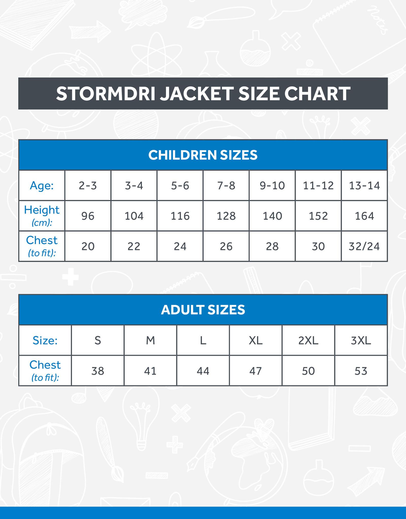 Result Ballyholme StormDri Jacket (RS160B)