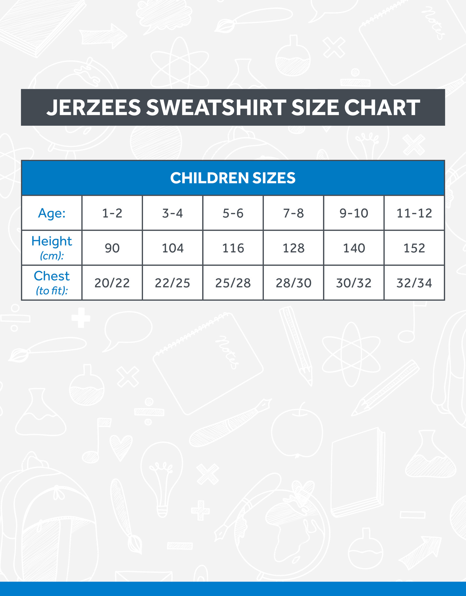 Russell Rising Talent Kids Sweatshirt (762B)
