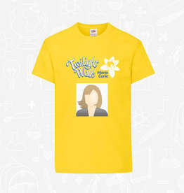 Fruit of the Loom Marie Curie Twilight Walk Kids T-Shirt with Photo (SS6B)