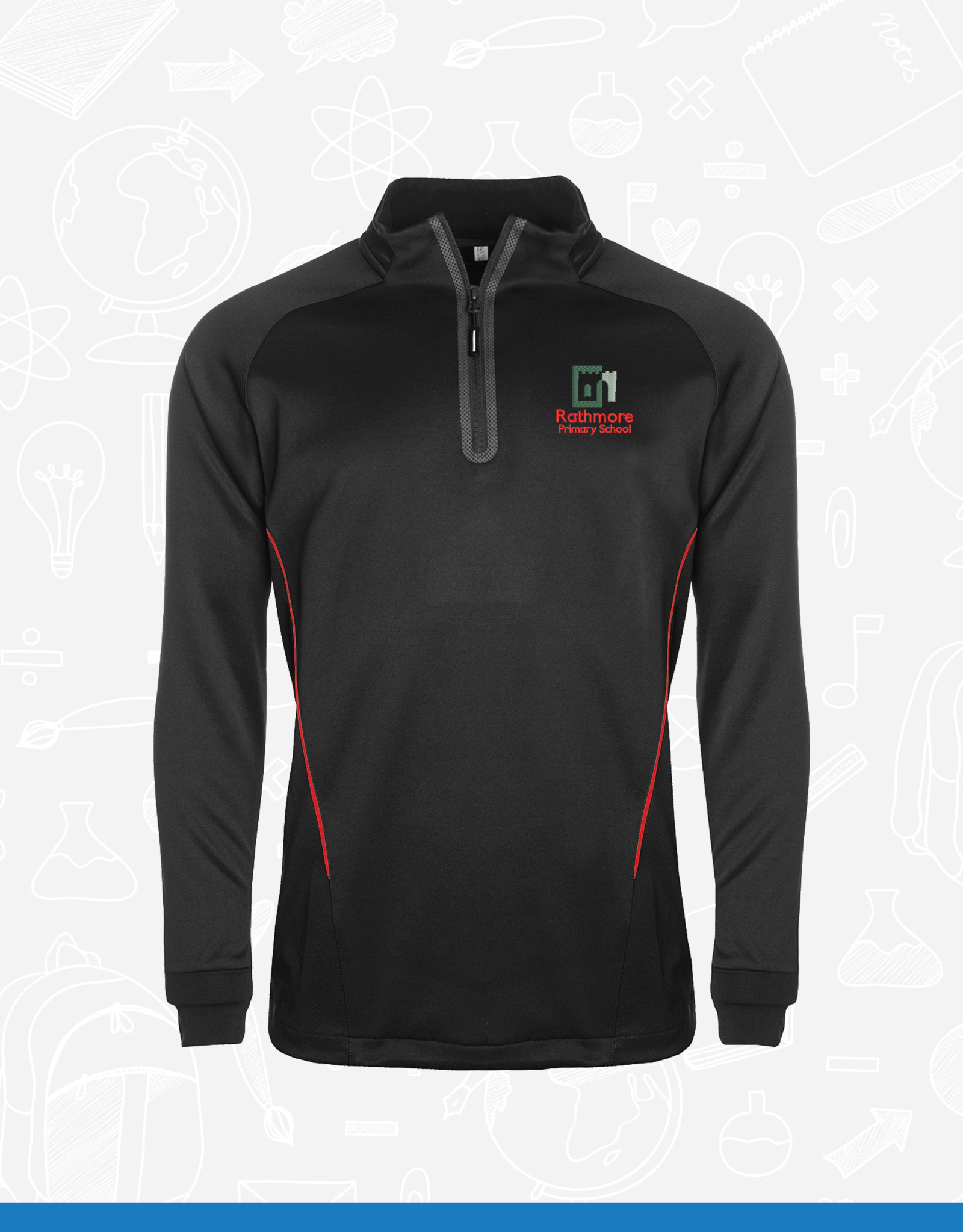 Aptus Rathmore Primary PE 1/4 Zip Top (111891)