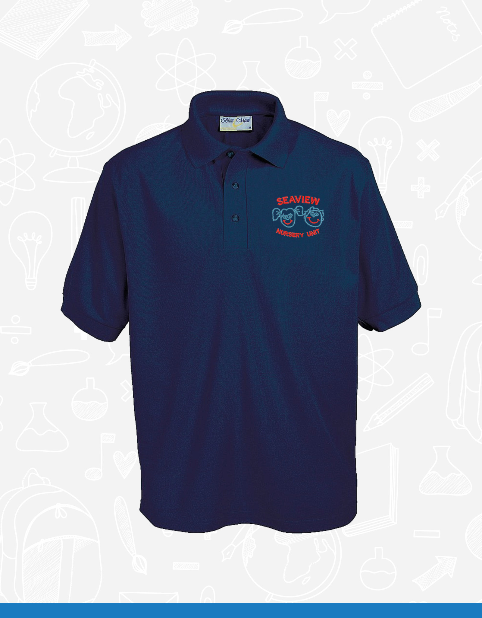 Banner Seaview Nursery Unit Staff Polo (3PP)