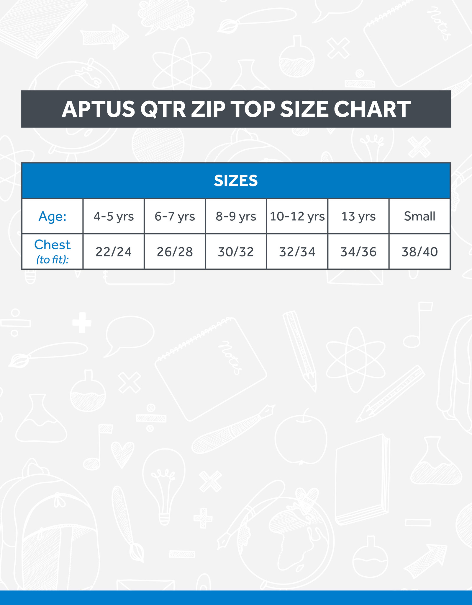 Aptus Loughview Staff Essentials 1/4 Zip (112316)