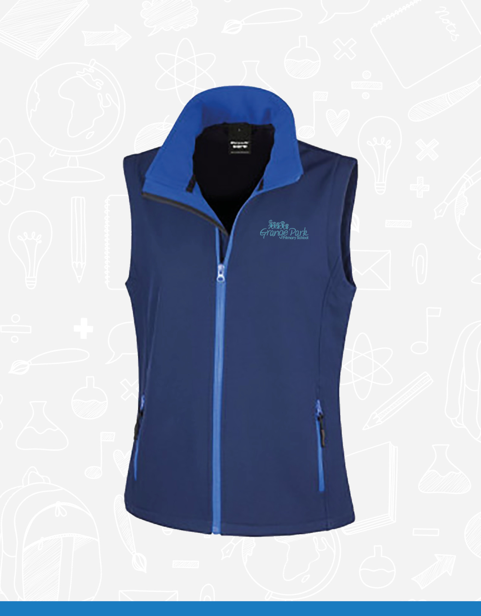 Result Grange Park Staff Ladies Gilet (RS232F)