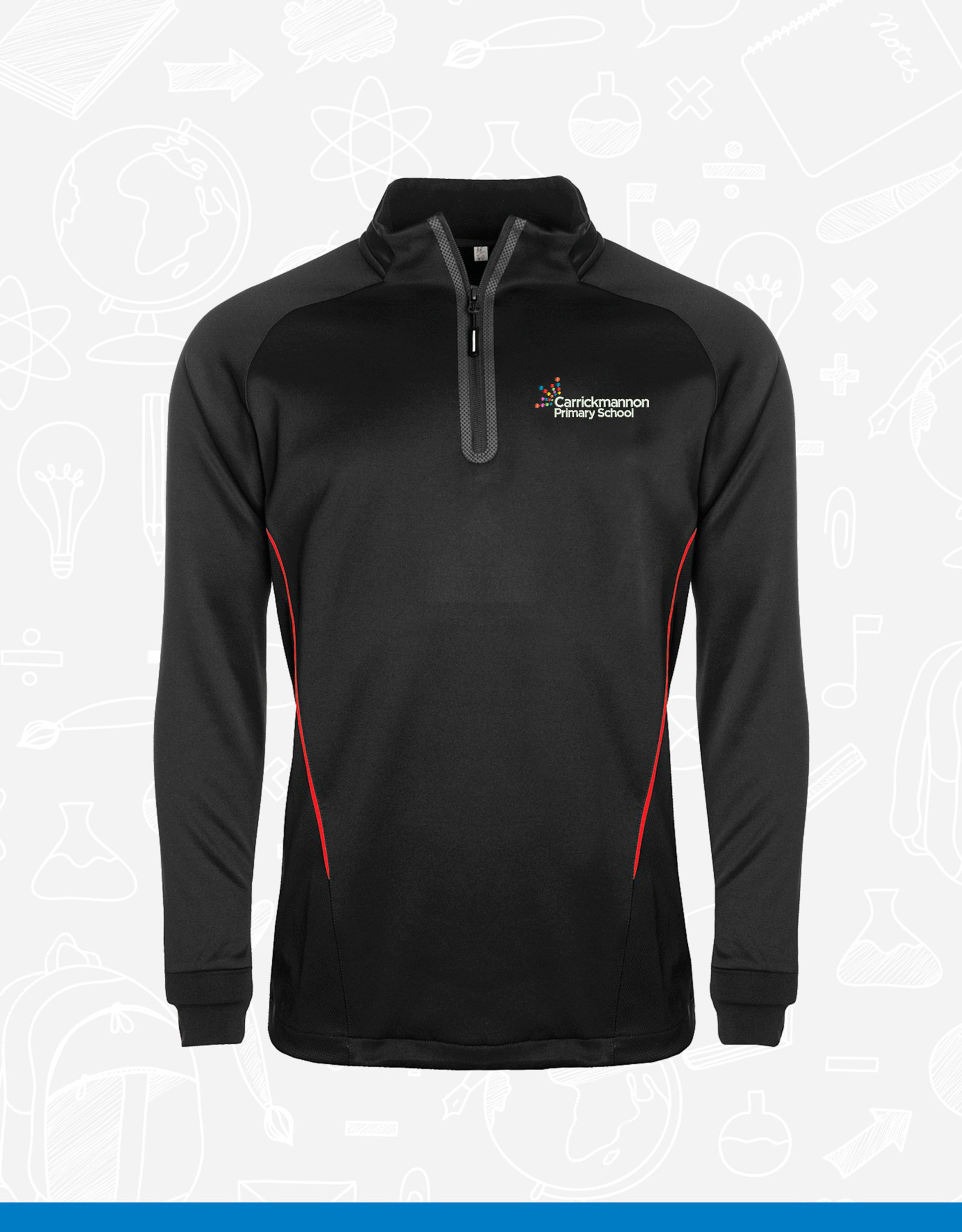Aptus Carrickmannon Primary Staff 1/4 Zip Top (111891)