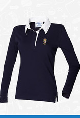 Front Row RUYC Ladies Long Sleeve Rugby Shirt (FR101)