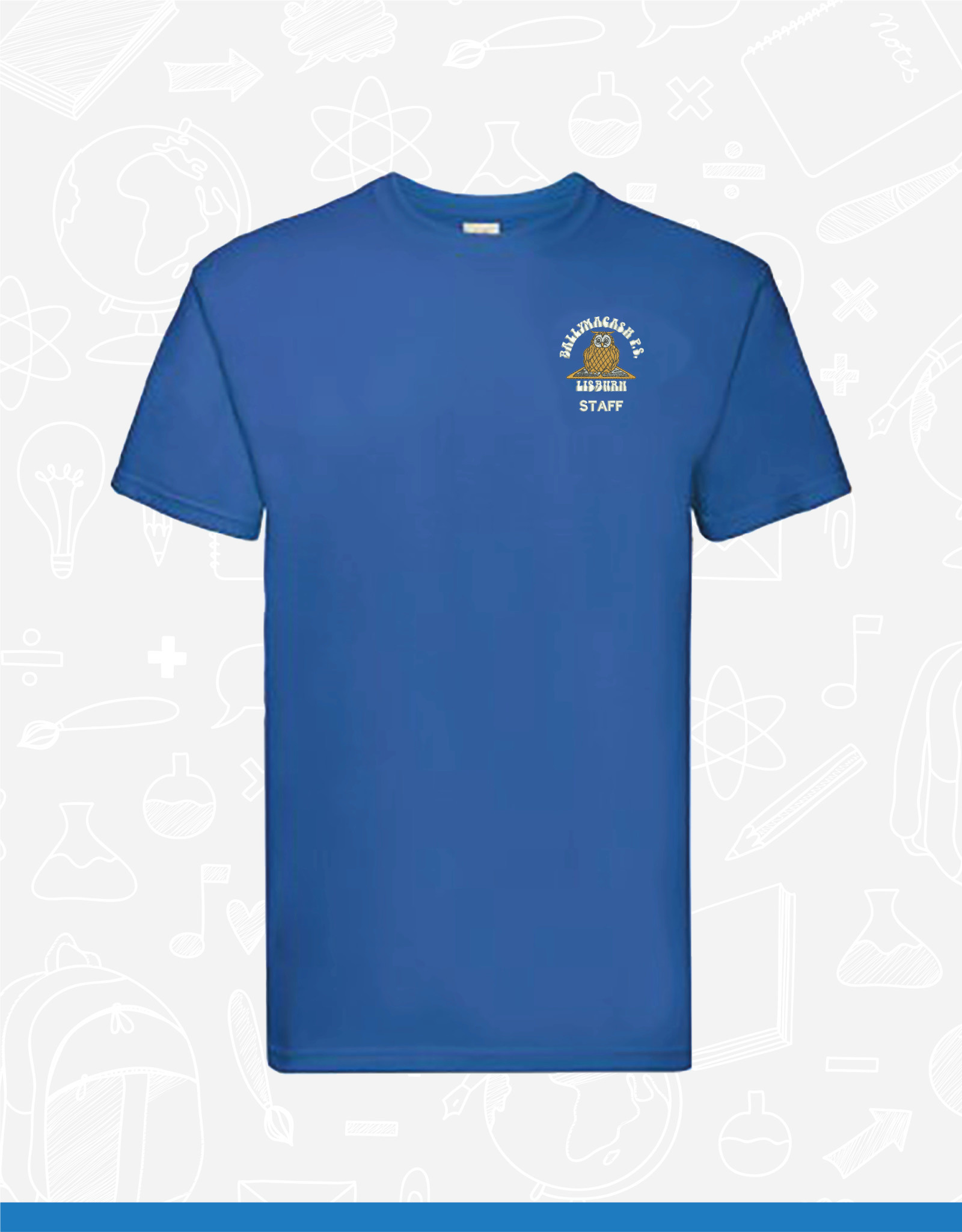 Fruit of the Loom Ballymacash Staff T-Shirt (SS10)