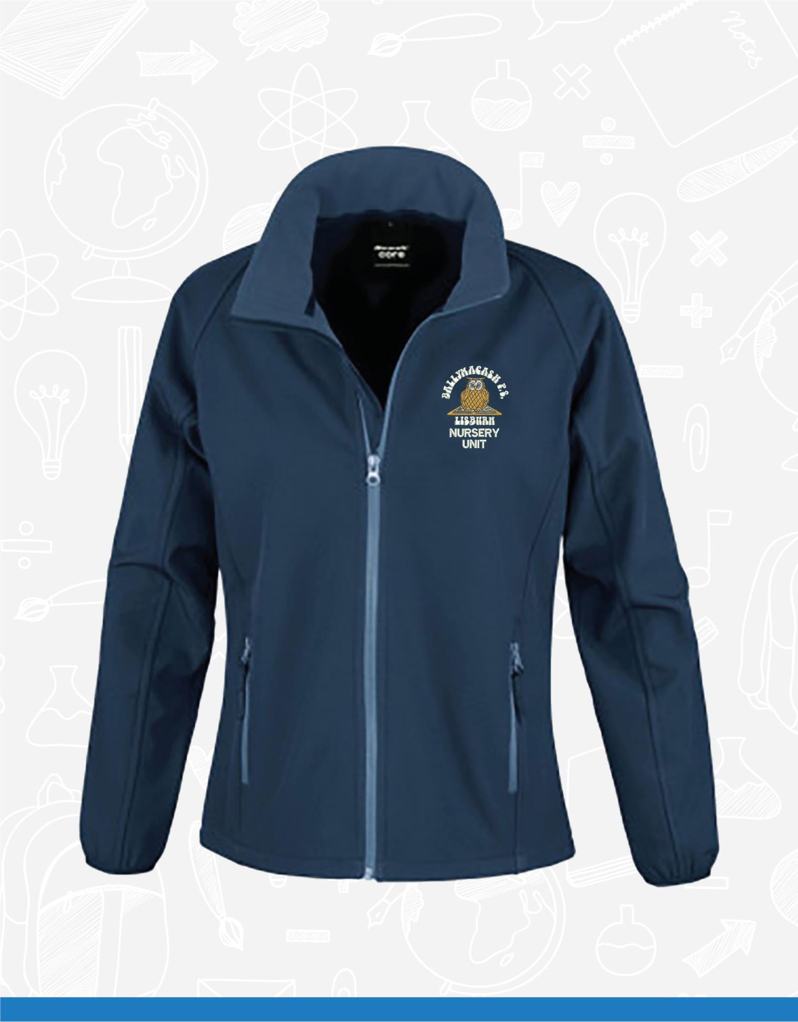 Result Ballymacash Nursery Staff Ladies Softshell Jacket (RS231F)