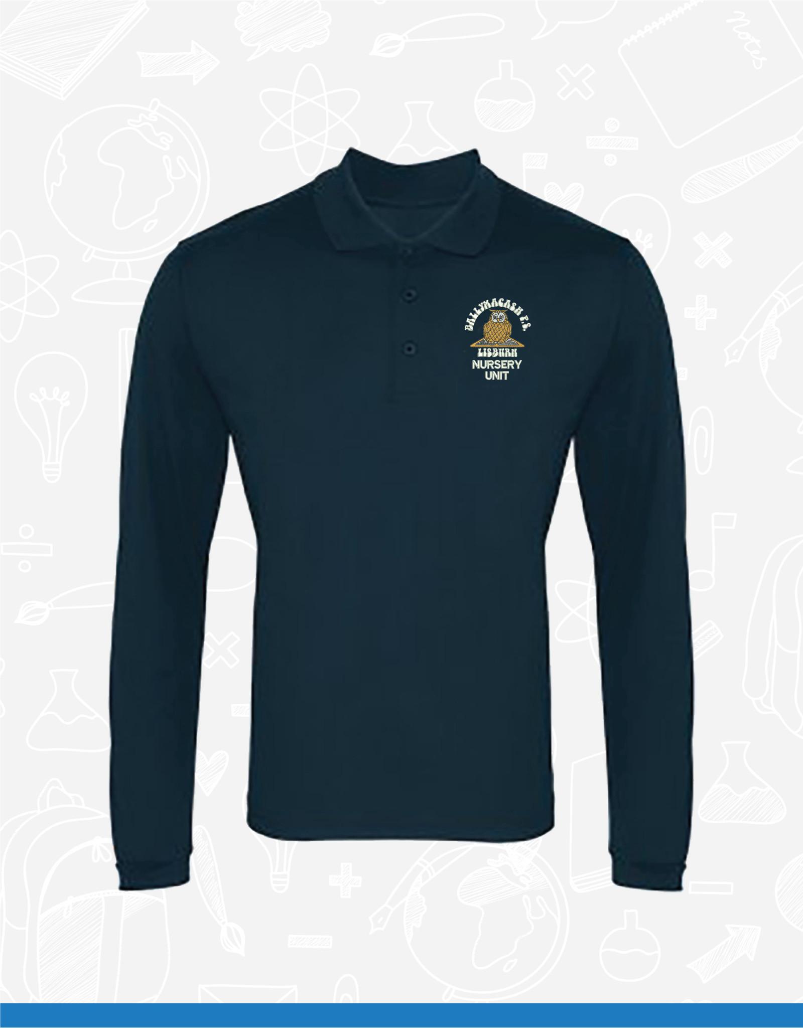 Premier Ballymacash Nursery Staff Long Sleeve Polo (PR617)