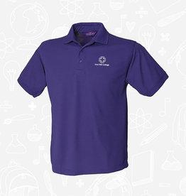 Henbury Iron Mill College - Purple Polo (H400)