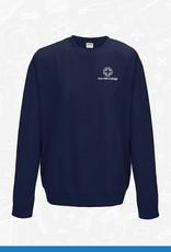AWDis Iron Mill College - Navy Sweatshirt (JH030)