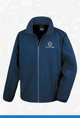 Result Iron Mill College - Navy Softshell (RS231M)