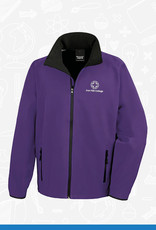 Result Iron Mill College - Purple Softshell (RS231M)