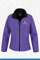 Result Iron Mill College - Ladies Purple Softshell (RS231F)