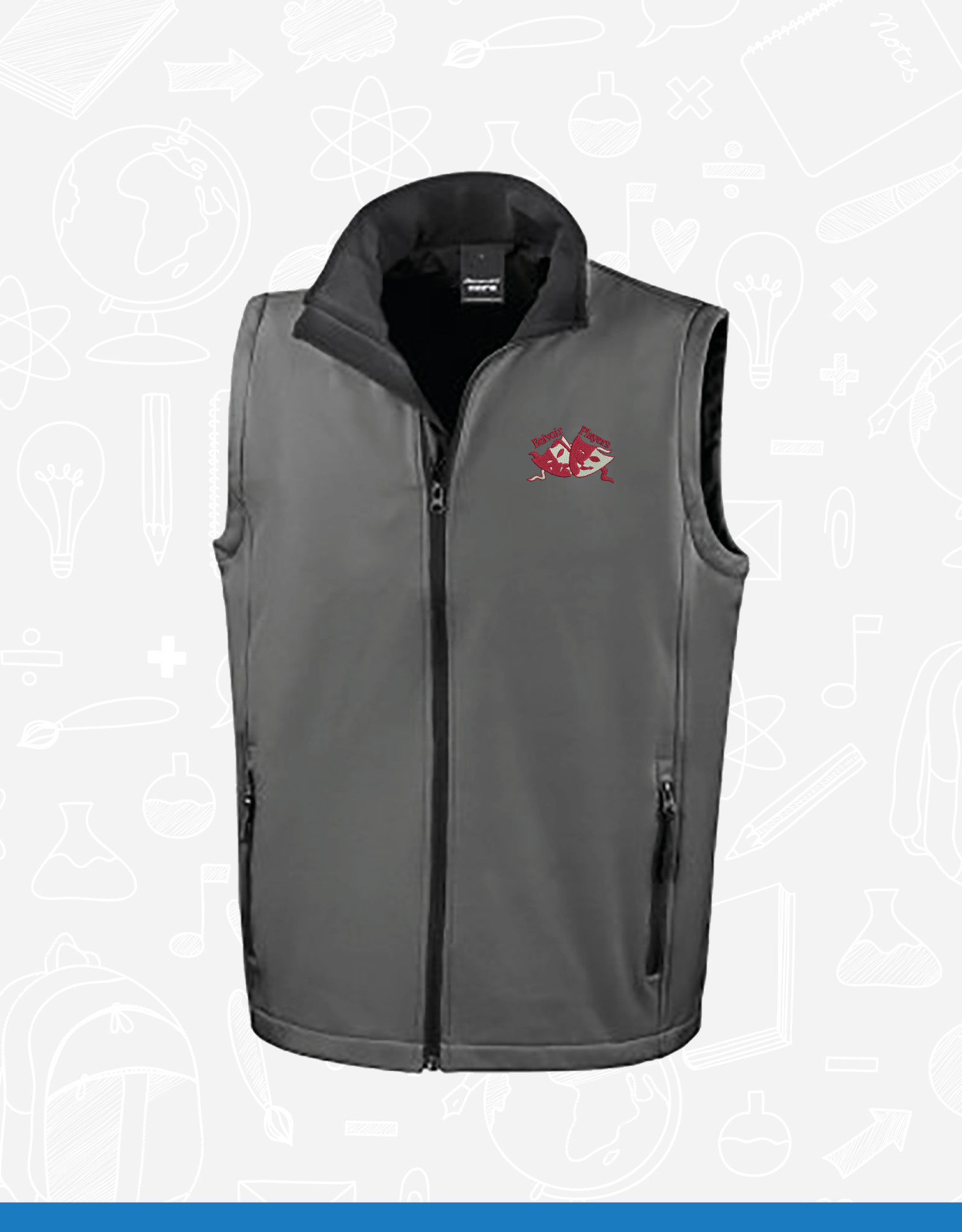 Result Belvoir Players Adult Membership Gilet (RS232M)