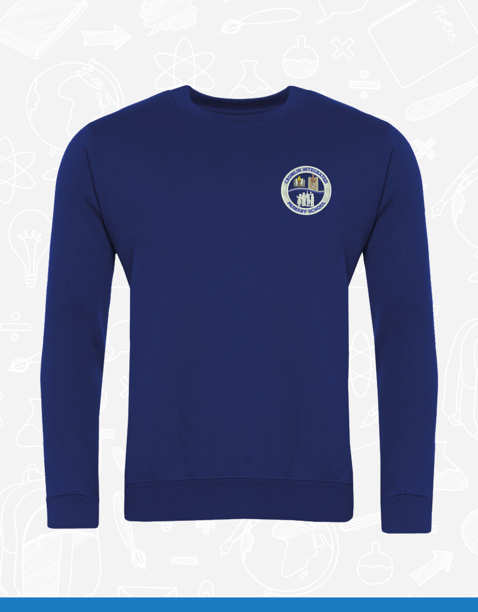 Banner Crumlin Integrated Primary Sweatshirt (3SD)