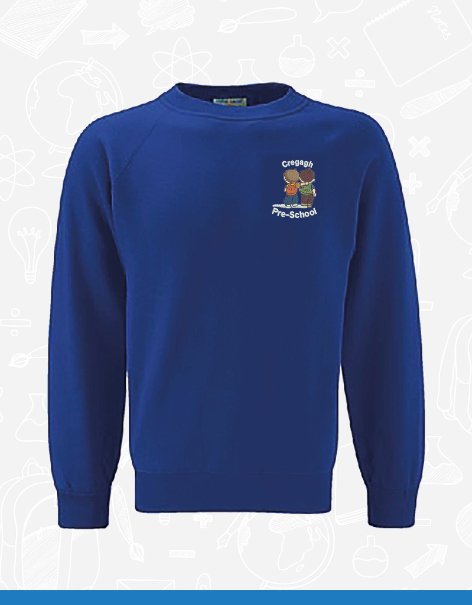 Banner Cregagh PreSchool Sweatshirt (3SR)