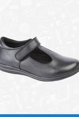 UKD Girls Leather T-Bar Shoe (G858A)