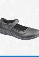 UKD Girls Leather School Shoe (G859A)
