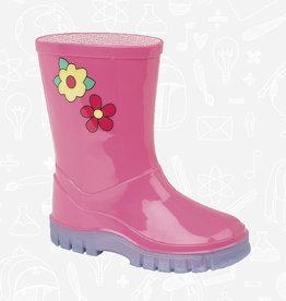 UKD Floral Puddle Wellington Boots (W204PK)