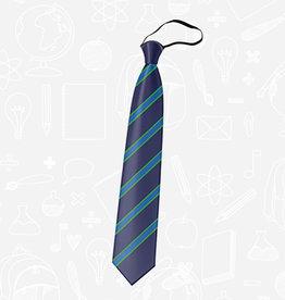 TSW Ties Park School Tie - Year 8-12 Elasticated Tie