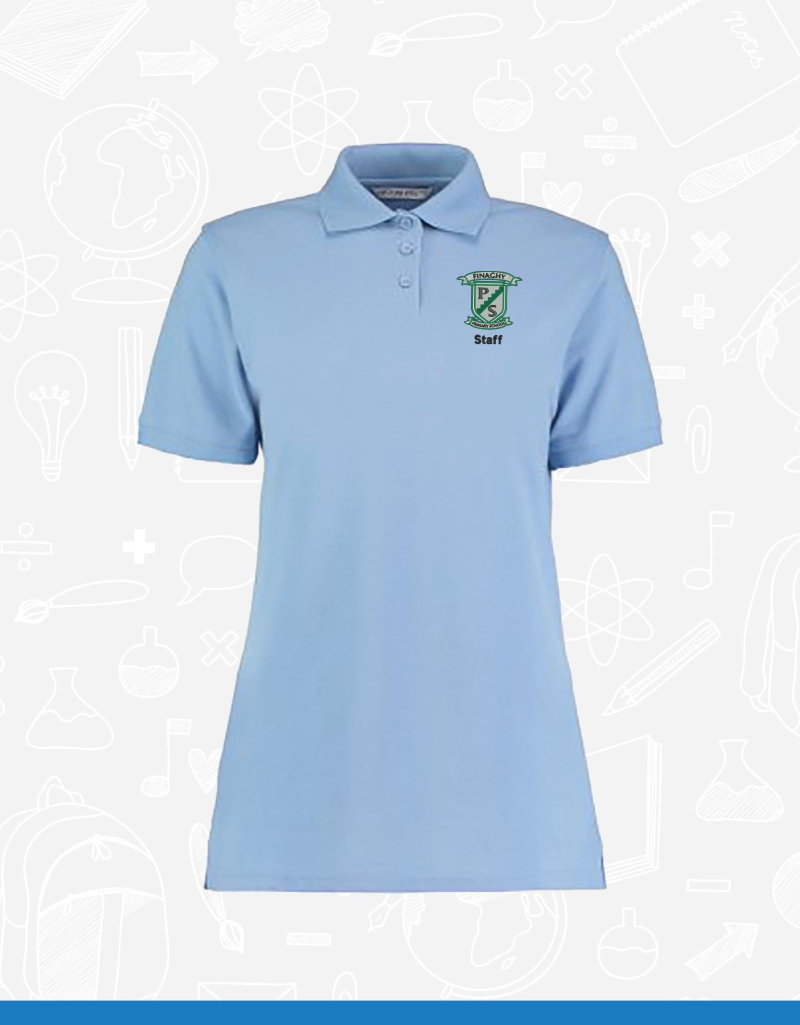 Kustom Kit Finaghy Primary Staff Ladies Pique Polo (K703)
