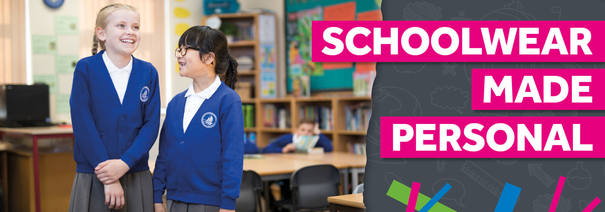 Home Page Banner - Schoolwear Made Personal