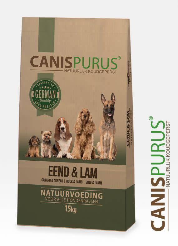 Canis Purus Canis Purus brokken eend 15kg