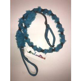 Floramicato Floramicato Fluffy leash + collar M