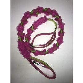 Floramicato Floramicato Fluffy leash + collar L