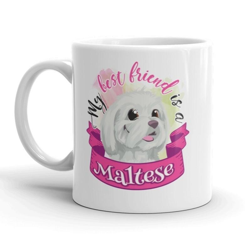 Doggygraphics DG mok best friend Maltese