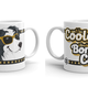 Doggygraphics DG mok can't be cooler BC zwart-wit