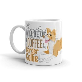 Doggygraphics DG mok BC ee-red and coffee