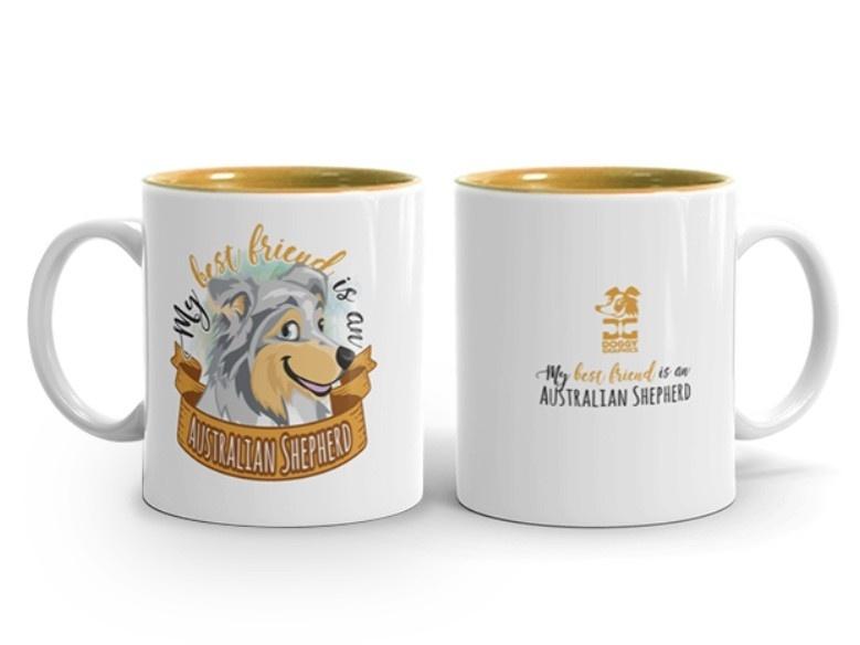 Doggygraphics DG mok best friend Australian Shepherd
