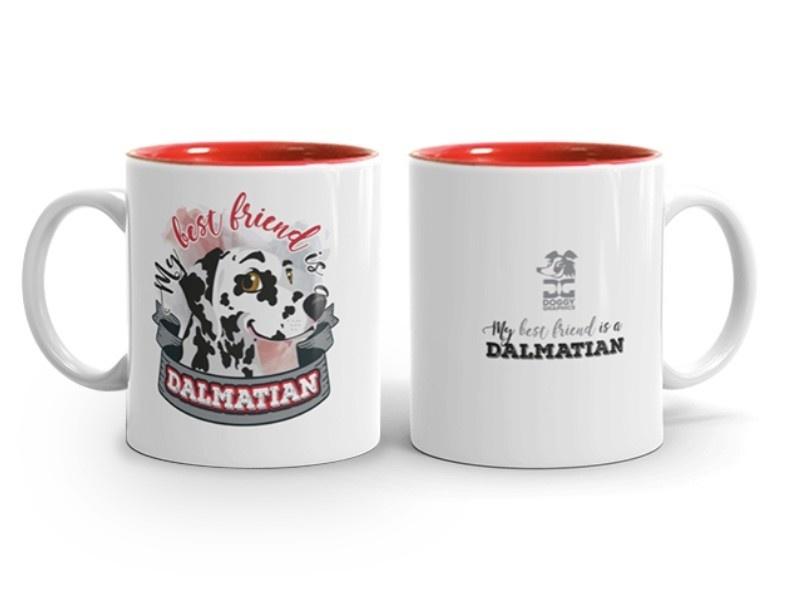 Doggygraphics DG mok best friend Dalmatian