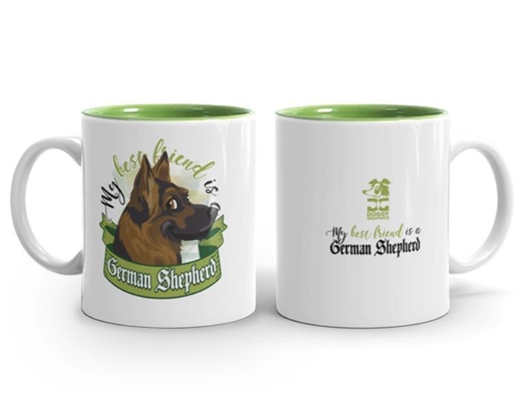 Doggygraphics DG mok best friend German Shepherd