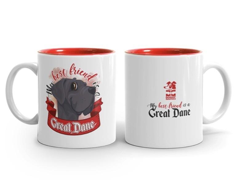Doggygraphics DG mok best friend Great Dane