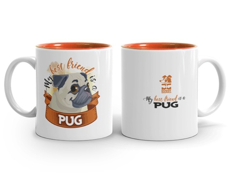 Doggygraphics DG mok best friend pug