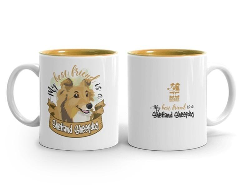 Doggygraphics DG mok best friend Shetland Sheepdog sable