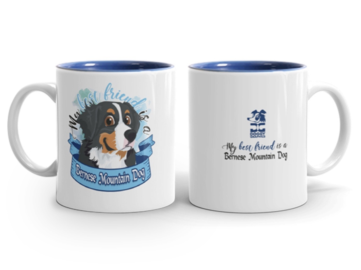 Doggygraphics DG mok best friend Bernese Mountain Dog