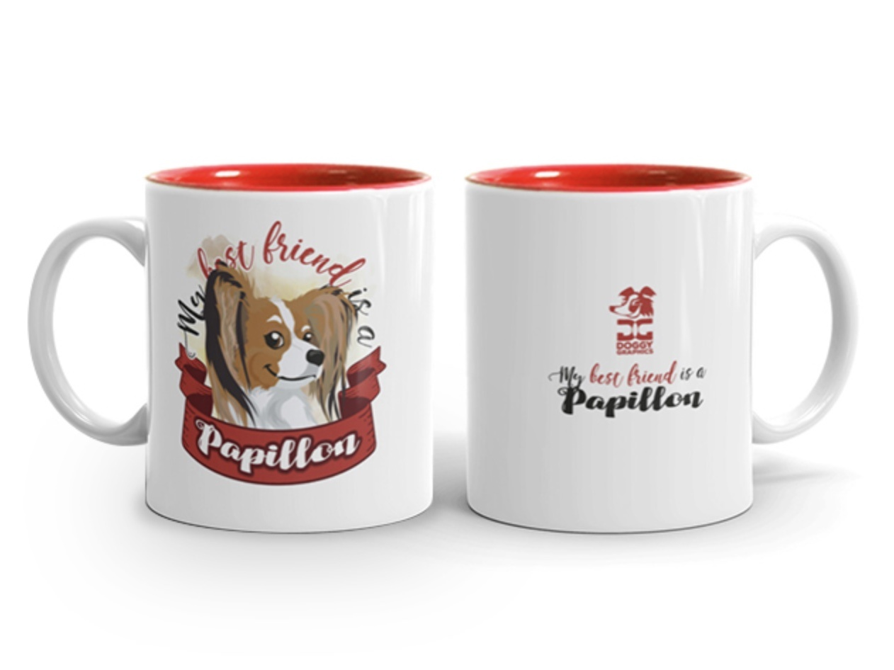 Doggygraphics DG mok best friend Papillon