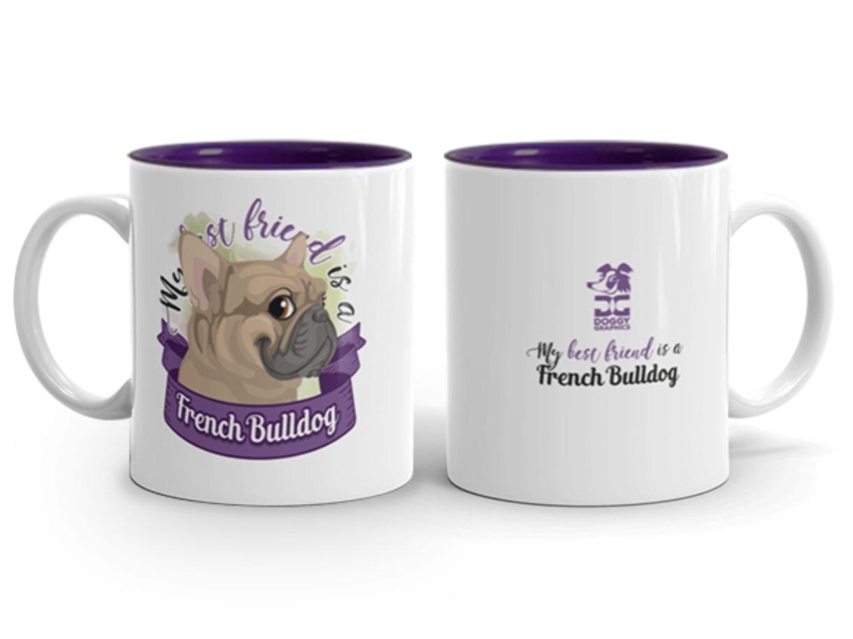 Doggygraphics DG mok best friend French Bulldog