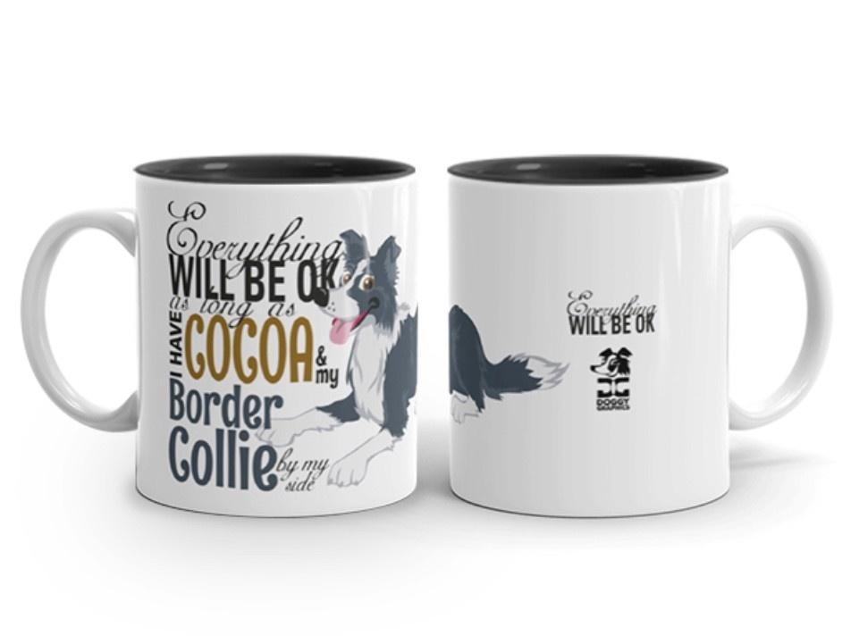 Doggygraphics DG mok BC black and cocoa