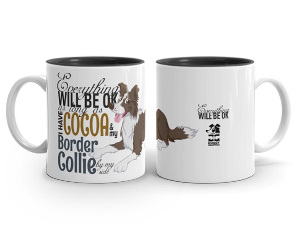 Doggygraphics DG mok BC cocoa brown