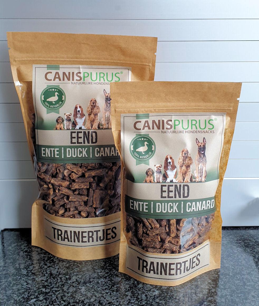 Canis Purus Canis Purus trainertjes eend 500 gr