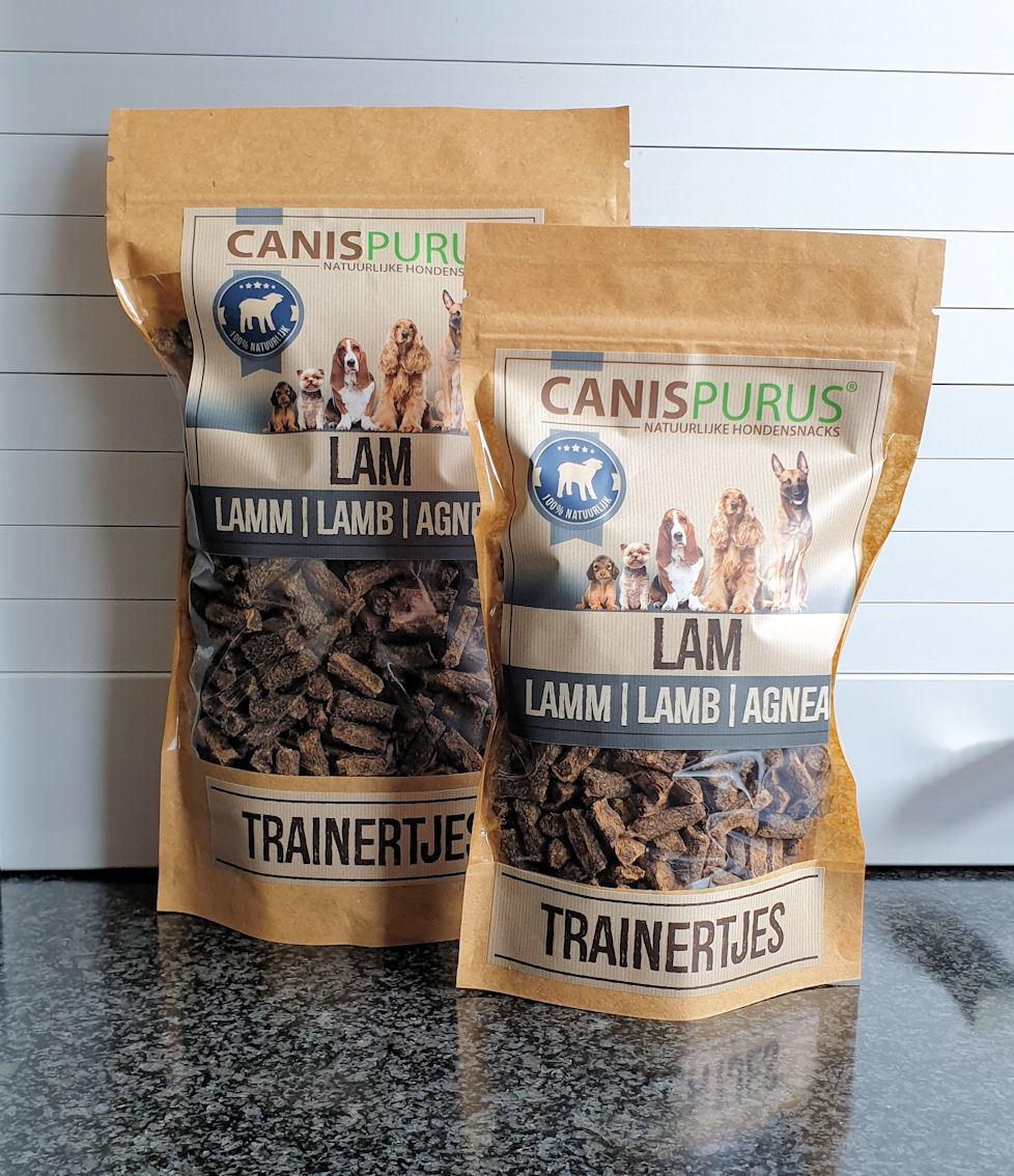 Canis Purus Canis Purus trainertjes lam 500 gr
